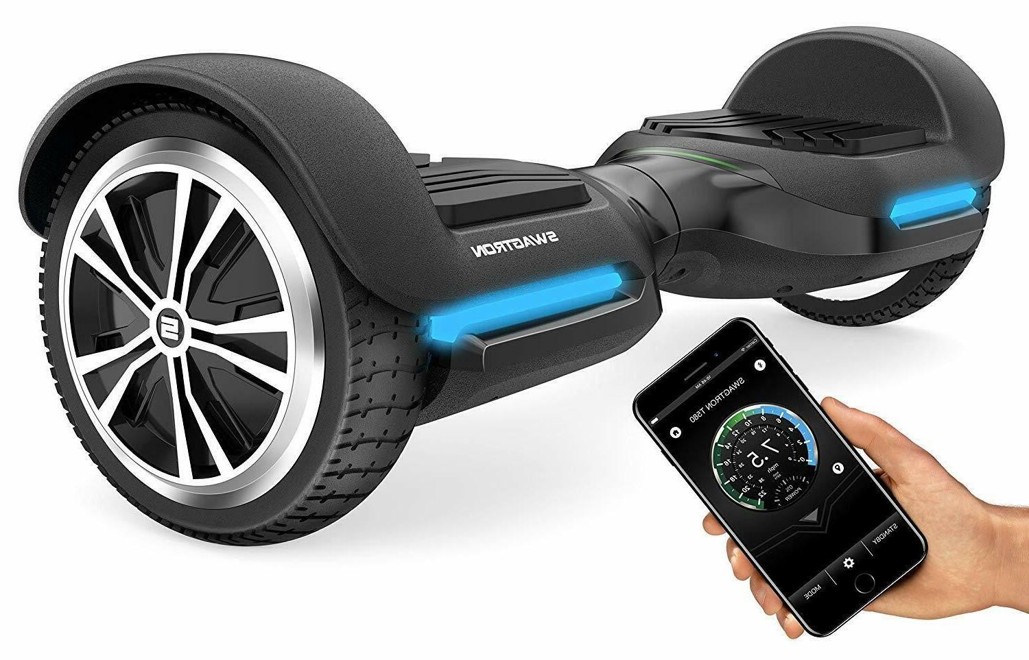 swagboard vibe t580 hoverboard app enabled bluetooth
