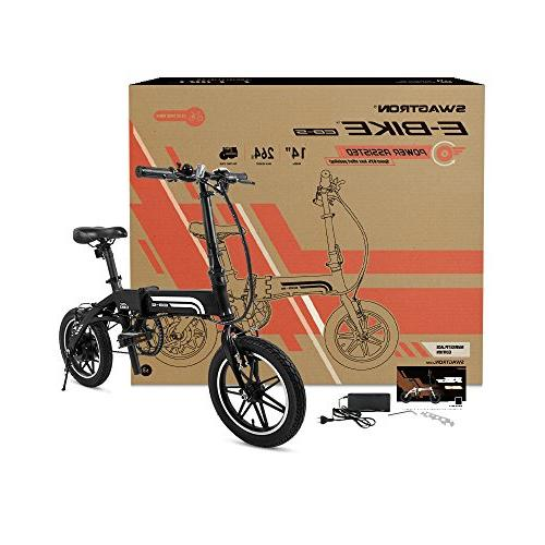 SWAGTRON Swagcycle Lightweight & with Black,