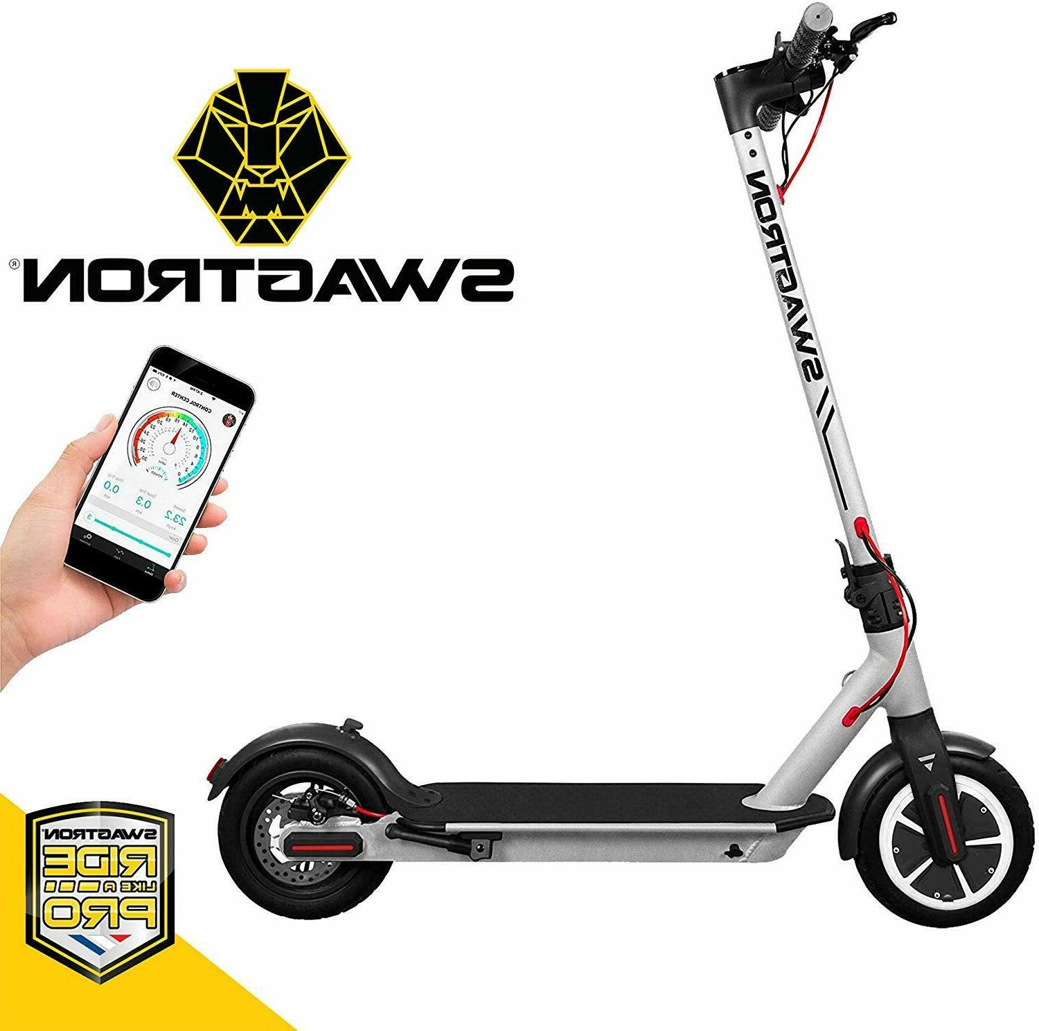 Swagtron Swagger 5 High Speed Electric Scooter Cruise Contro