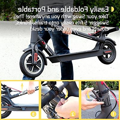 Swagtron 5 Elite Portable Scooter , To
