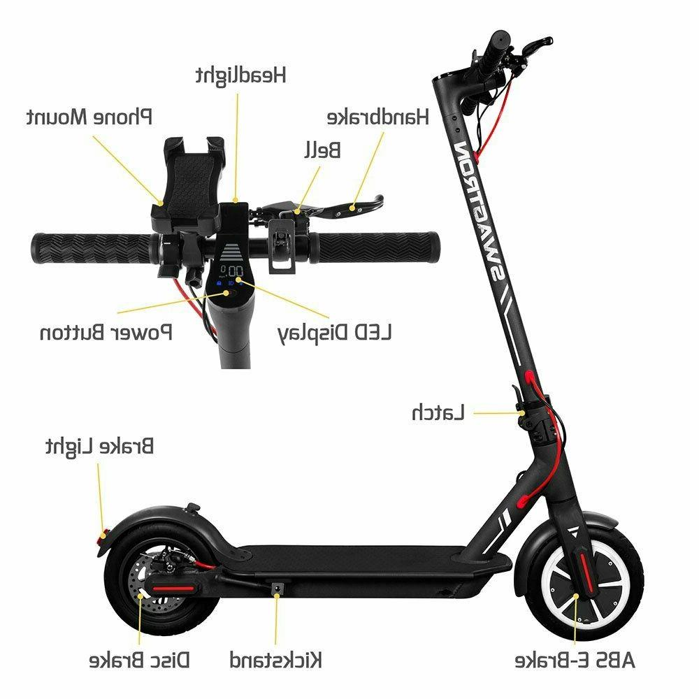 Swagtron 5 High Speed Scooter Control Portable Folding