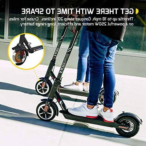 Swagtron Swagger & Foldable Includes Mount, Medium