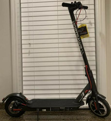 swagger 5s foldable black electric scooter new
