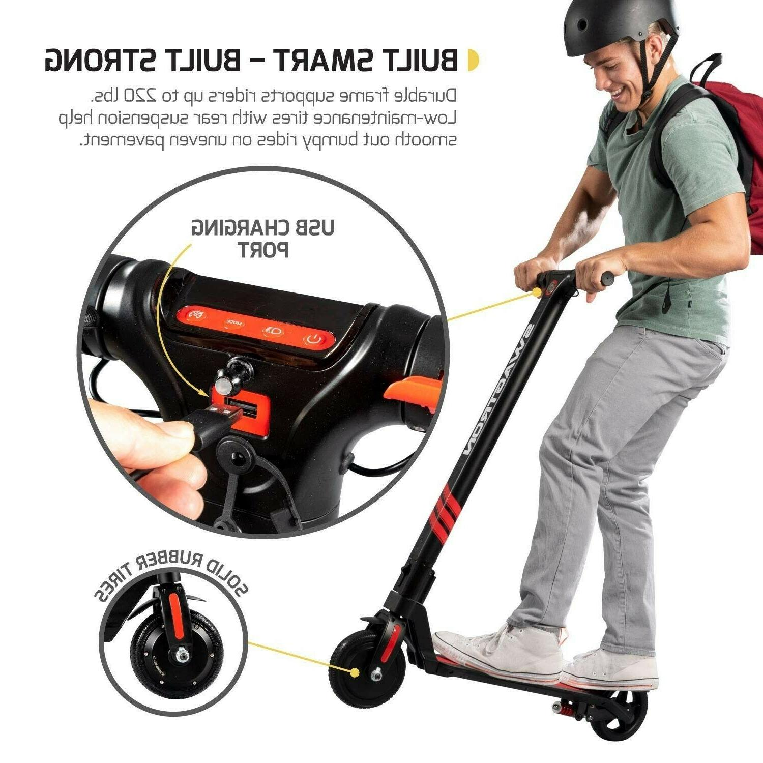 Swagger Pro Electric Scooter, Motor -