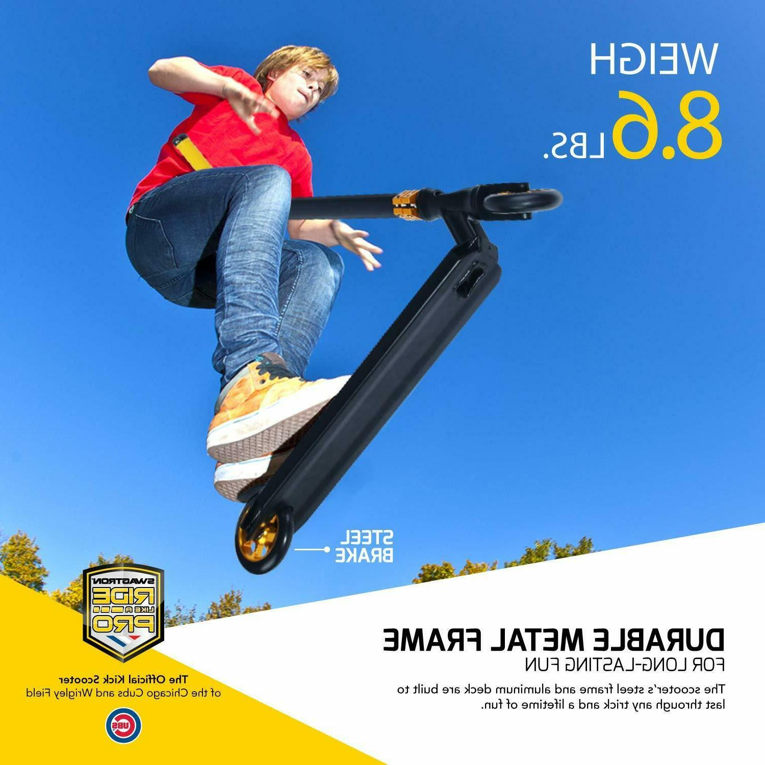 Swagtron ST047 Scooter Freestyle Stunt Scooter Advanced