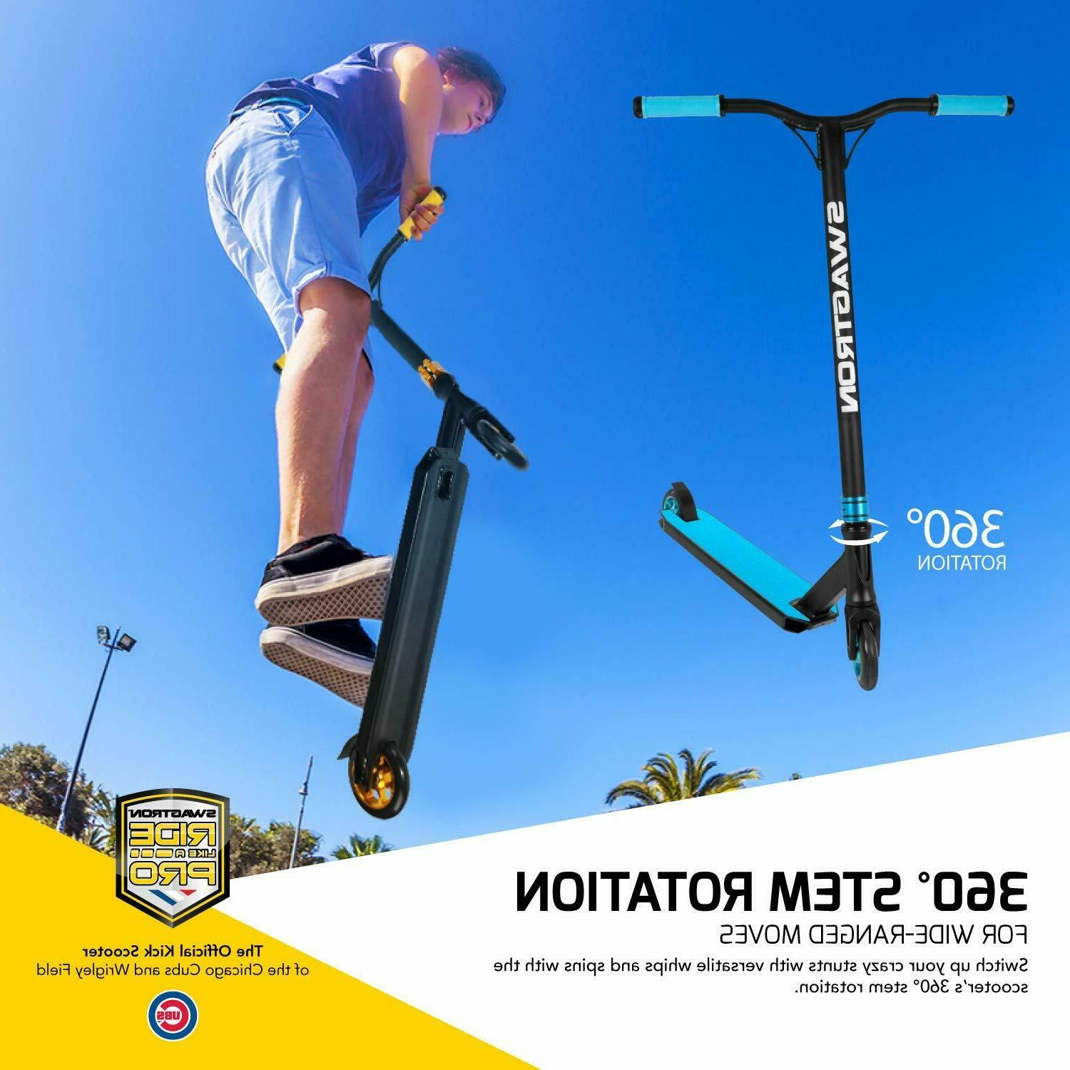 Swagtron Advanced Scooter Freestyle Scooter BMX Advanced