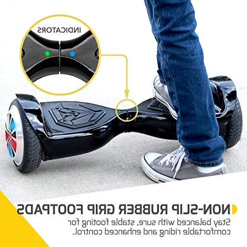 Hoverboard for LED Light-Up Wheels, Self-Balancing Scooter UL2272