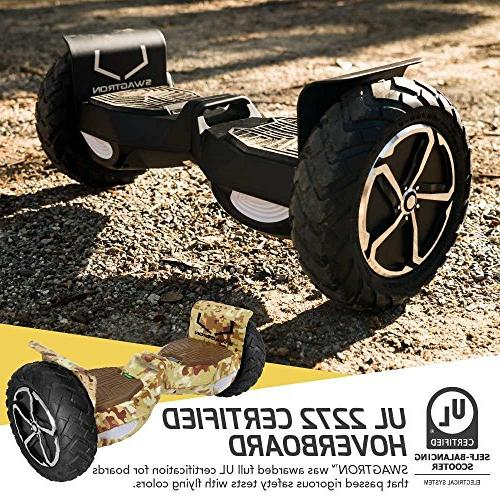 Swagtron T6 Off-Road – World 250 LBS, to 12
