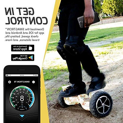 Swagtron Off-Road – in World to 250 LBS, 12 MPH, UL2272
