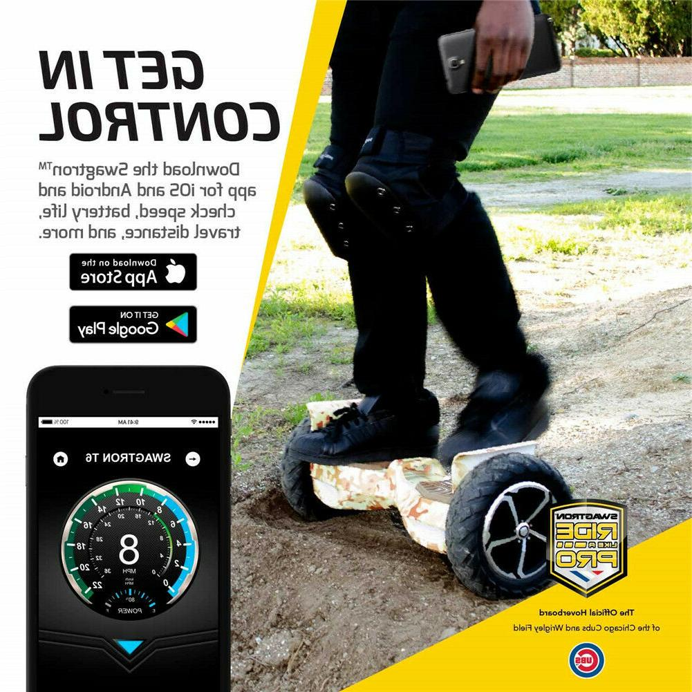 SWAGTRON T6 Off-Road Electric Hoverboard