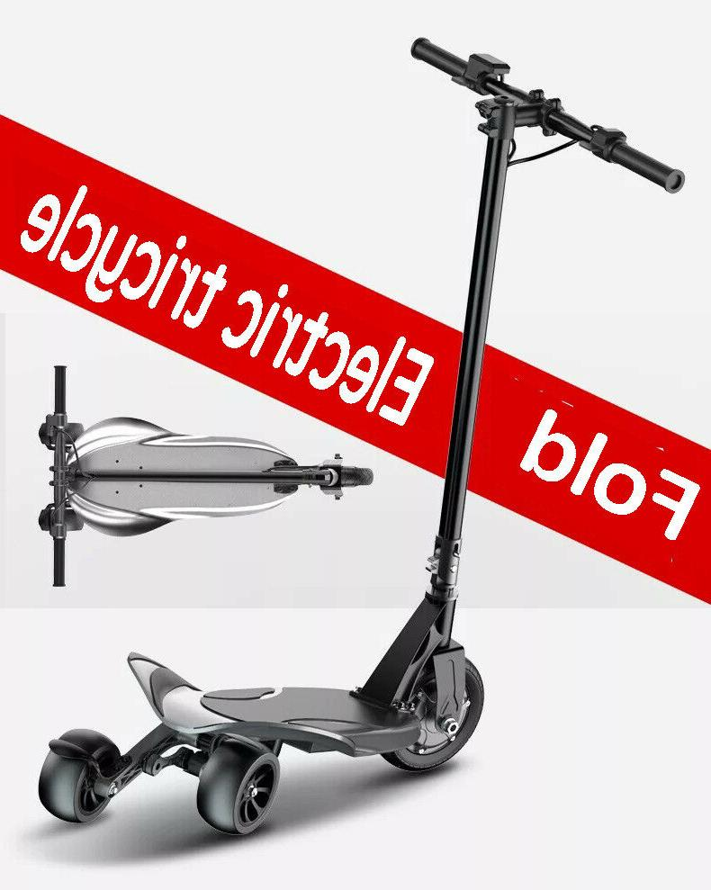 Three-Wheel Folding Electric Ultra-Light Drift Adult Scooter