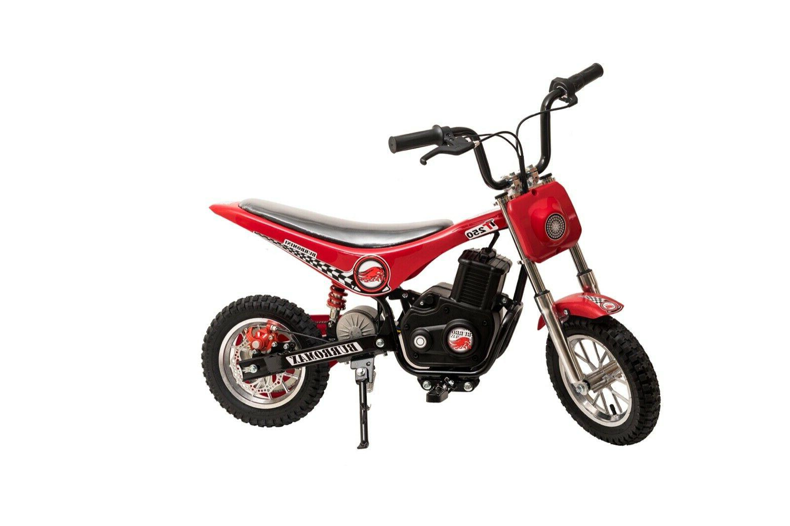 Burromax TT250 Electric Mini Bike 250W Battery Powered Scooter
