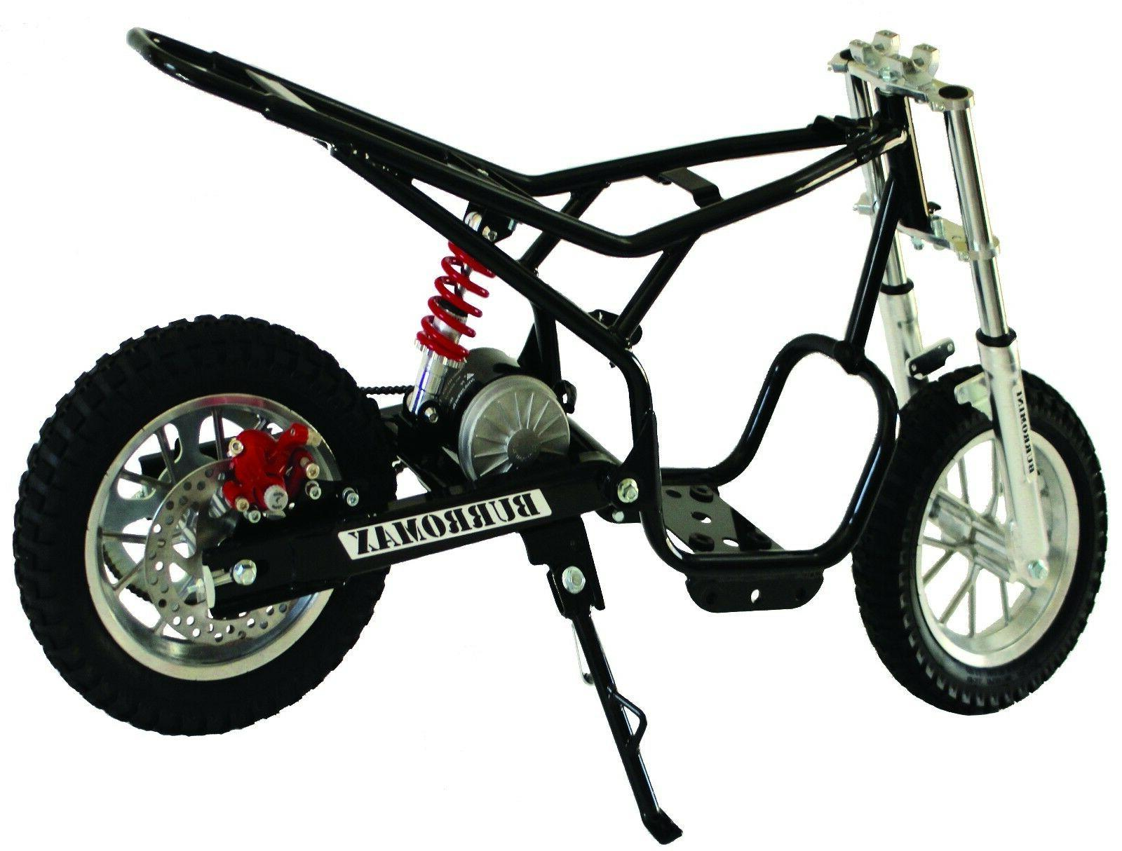 Burromax TT350R Electric Mini Bike 350W Lithium Battery