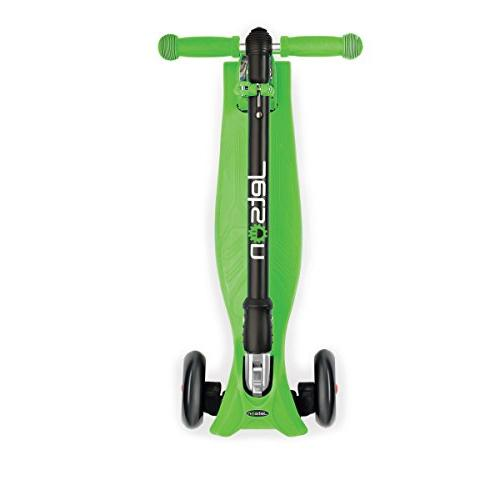Jetson Twin Kick Scooter with Wheels, Lean-to-Steer Height Adjustable Kids 5 and -