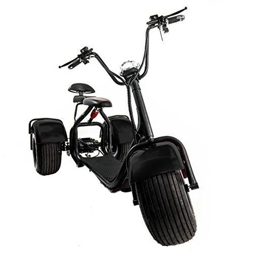 eDrift UH-ES395 3-Wheel Trike Scooter Harley E-Bike