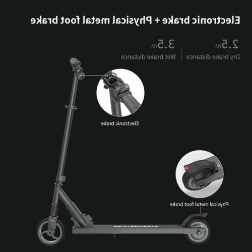 250W High Speed Folding Adult Electric Scooter Lightweight Easy-carrying US