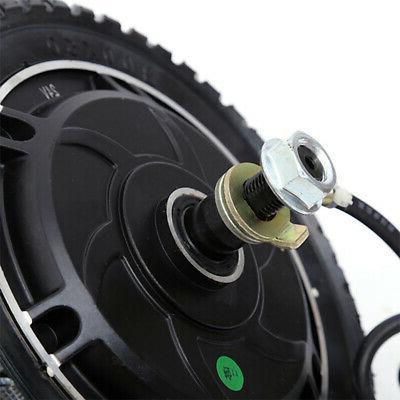 "US 8"" Hub Wheel Motor 24V/36V/48V DC Toothless"