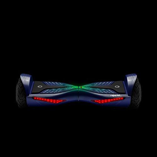 Jetson V12 Electra-Light Self-Balancing Electric with Powerful Motor, Lights Safe