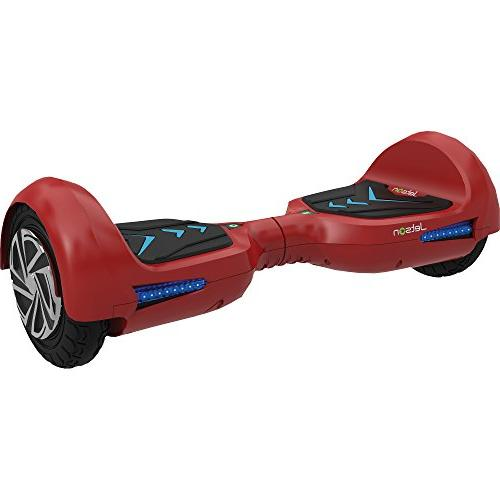 Jetson V6 Self-Balancing Electric Scooter Powerful 700W Motor, Lights, Bluetooth Speaker and