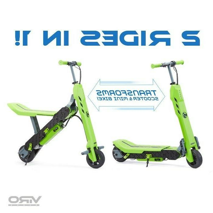 vega transforming 2 in 1 electric scooter