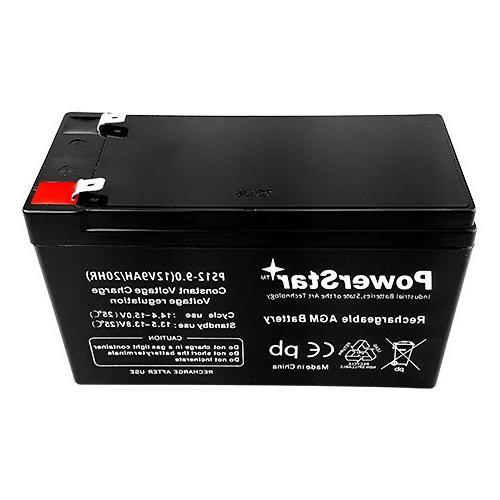 PowerStar-2Pack-2 year Warranty 12V 9AH SLA Razor e200 / / / e300s /