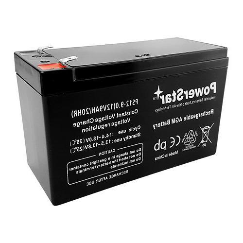 PowerStar-2Pack-2 year Warranty 9AH SLA Battery Razor / / e300s