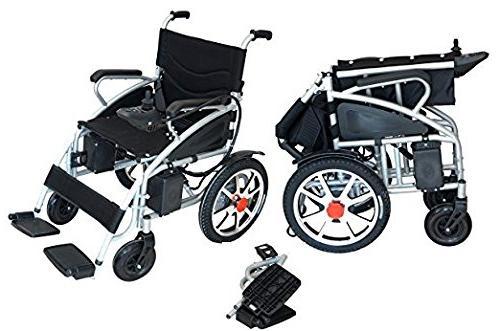 Best 2018 Electric Wheelchair Folding Lightweight Heavy Duty Power