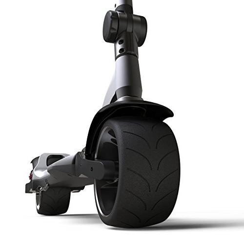 Mercane Widewheel Foldable Safe Kick Scooter for Adults and Youth - Wide Tires, 500W More Than 19Miles Battery, CA
