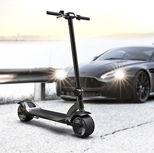 Mercane Widewheel Electric Scooter- Foldable and Safe Electric Kick Scooter for and - 3.9in Wide Tires, 500W Power More Than Long-Lasting Battery, from CA