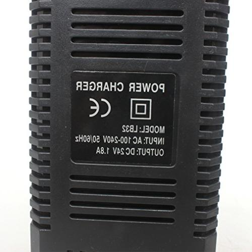 Wingsmoto 24V 1.8A Lead Acid Electric Maintenance-Free Battery Charger
