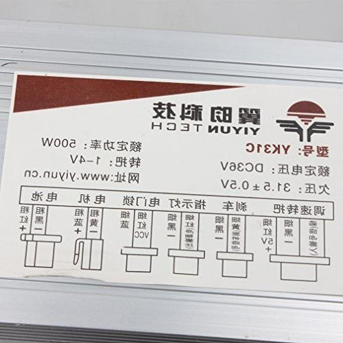 Wingsmoto Speed Controller E Bike Brush Motor Control