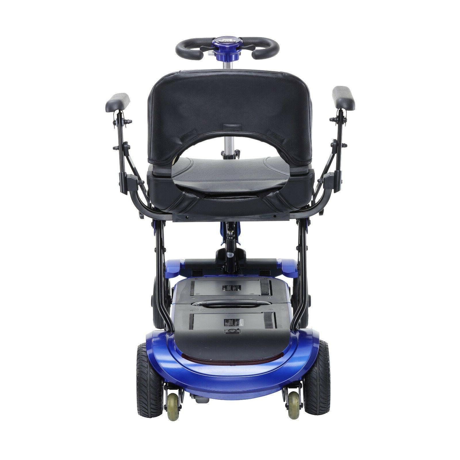 ZooMe FLEX Ultra Folding Travel 4 Wheel Mobility