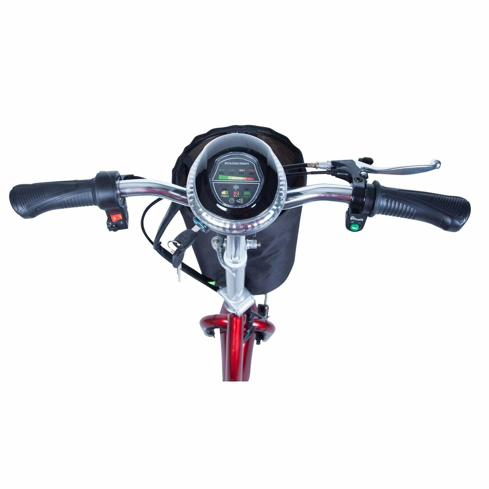 Drive Medical ZooMe3 Wheel Recreational Scooter, up 15 300