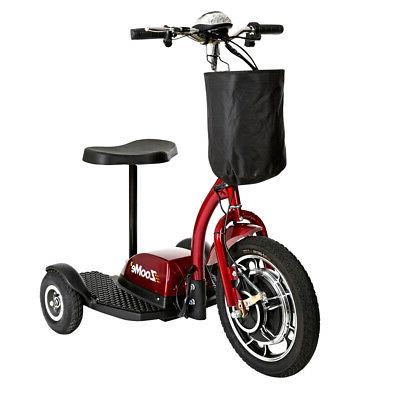 zoome3 3 wheel recreational scooter