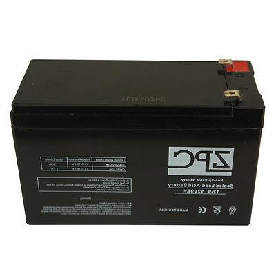 ZPC 12V 9Ah BATTERY ELECTRIC SCOOTER BICYCLE Battery