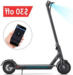 TOMOLOO L1 Kick Scooter for and Black Electric Scooter with