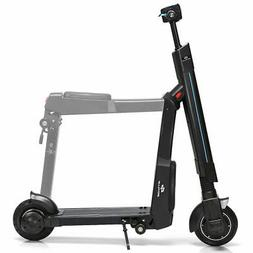 Folding Electric Scooter Removable Seat 15.5 MPH Speed Adult