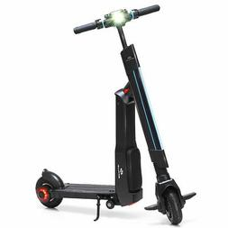 LED Bluetooth Folding Electric Scooter with Removable Seat S