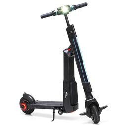 LED Bluetooth Folding Electric Scooter with Removable Seat w