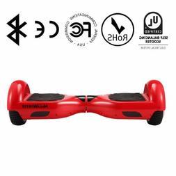 "Megawheels LQ1 Self balancing electric scooter 6.5"" Red free"