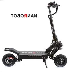 NANROBOT LS5 Powerful Foldable Adult Electric Scooter,10 inc
