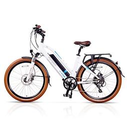 Magnum Metro Low Step Premium Electric Hybrid Bike - 500W Mo