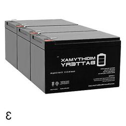 Mighty Max 12V 12AH Battery Replaces X-Treme XB-360 Electric