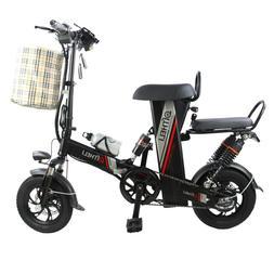 mini <font><b>electric</b></font> bike 12-inch power folding