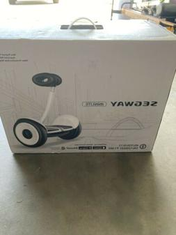 minilite smart self balancing electric transporter white