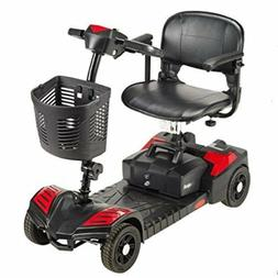 Compact Travel Scooter Mobility Disability Walking Aid Equip