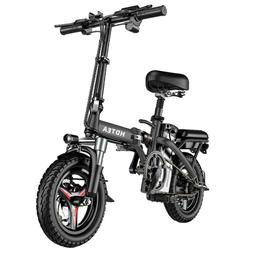 HDTEA Folding Electric Bike Suitable For Adults 250W Ebike w