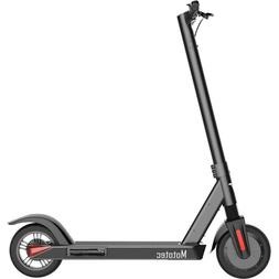 MotoTec City Pro 36v 8ah 350w Lithium Electric Scooter Black