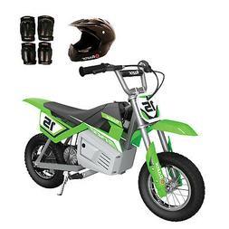 Razor MX400 Dirt Rocket 24V Electric Toy Dirt Bike with Prot