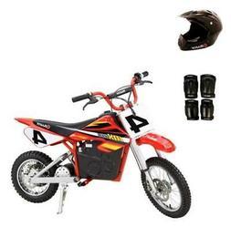 Razor MX500 Dirt Rocket Electric Bike Motorcycle with Helmet
